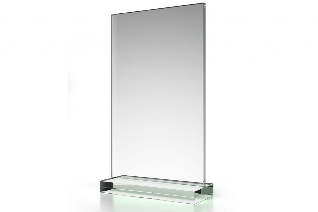 Display aus Acrylglas